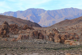 pic of mt whitney  - Alabama Hills are a  - JPG