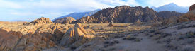 picture of mt whitney  - Alabama Hills are a  - JPG