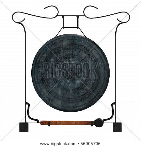 Thai gong isolated