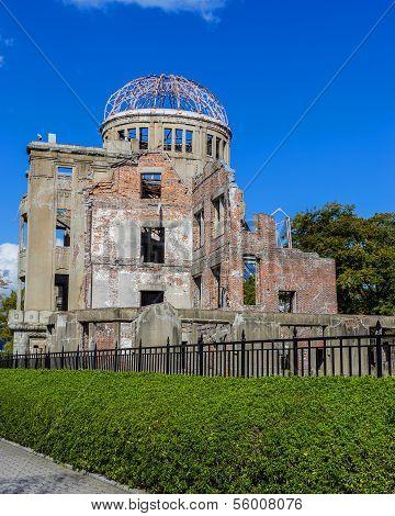 Hiroshima Peace Memorial (Genbaku Dome) in Hiroshoma