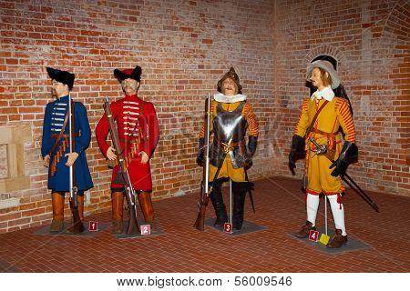 Soldiers Mannequin