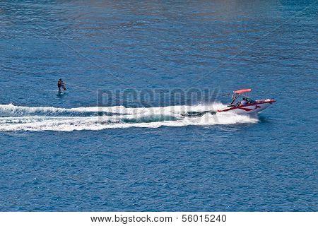 Sit Down Hydrofoil Ski Sport