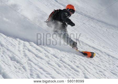 Snowboard freerider