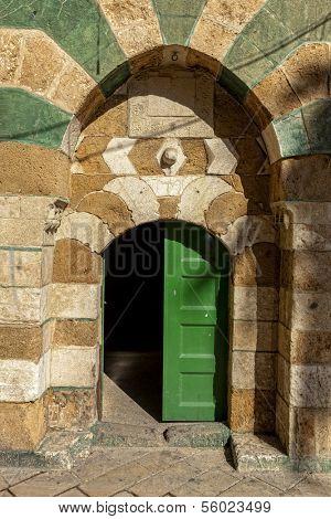 Doorway, Akko (Acre), Israel
