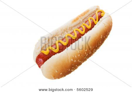 Hot Dog en blanco