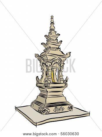 Buddist Pagoda