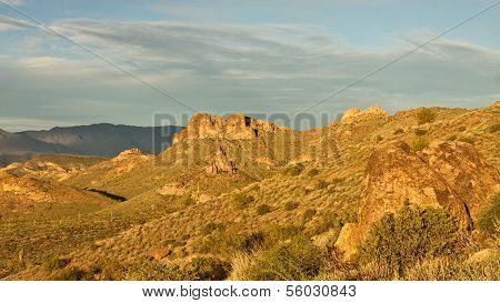 Arizona's Superstition Mountains