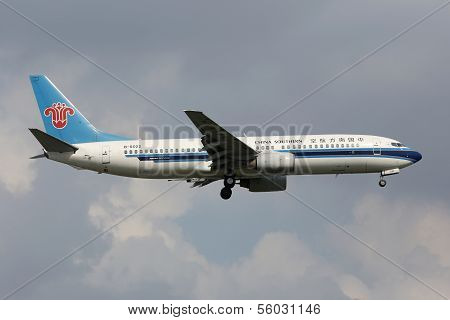 China Southern Boeing 737-800