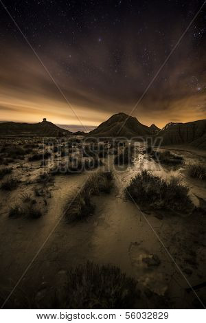 Night Over The Desert