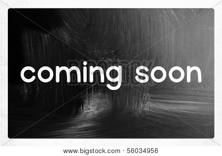 Coming Soon Concept