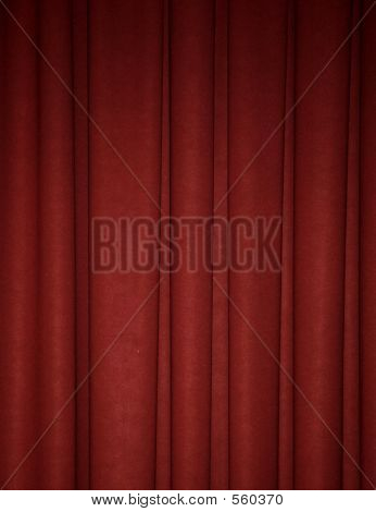 Deep Red Draped Backdrop Background
