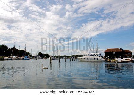 Birdham Pool marina