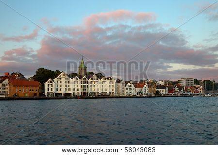 Stavanger At Dusk