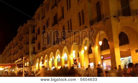 Downtown Beirut: Summer tourist Season