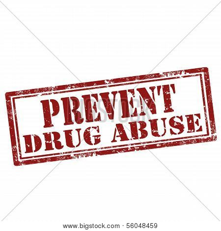 Prevent Drug Abuse-stamp