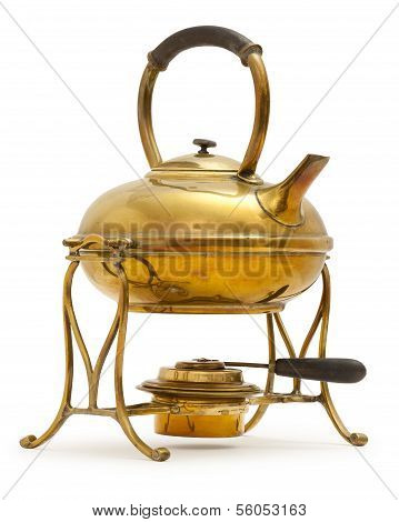 Old Brass Kettle