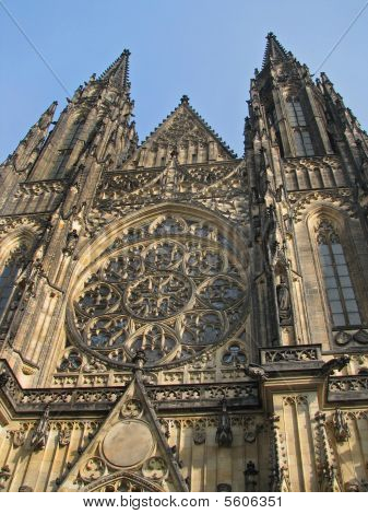 Facade Of Saint Vitus Cathedral