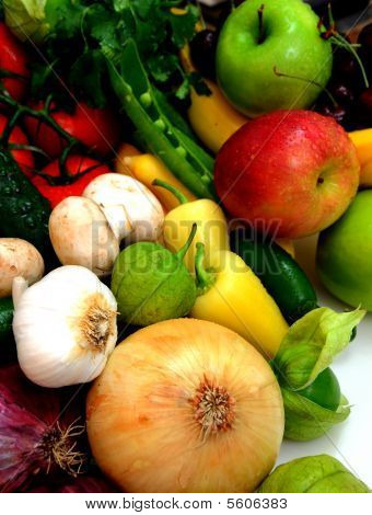 Vegtables And Fruit