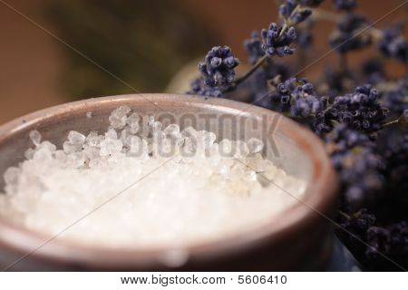 Bath Salt With Lavender