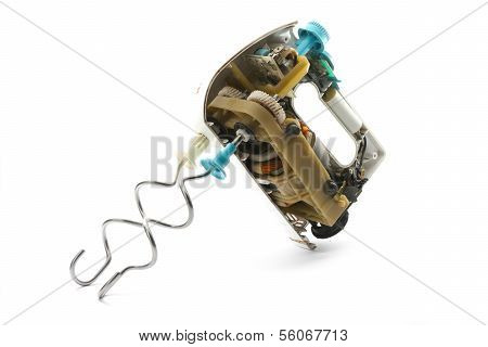 Dismantled Dirty Mixer