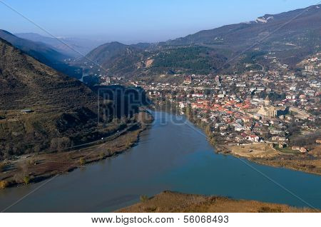 Panoramic View Of Mtskheta