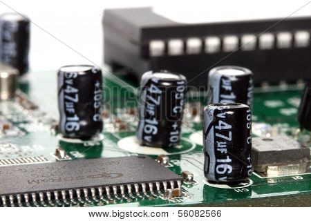 Macro Of Capacitors