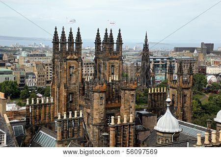 Royal Mile Edinburgh Old Town