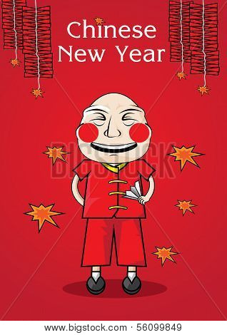 Vector Illustration Of Chinese New Year