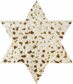 pic of matzah  - Jewish pastry made of flour and water ready for the Passover - JPG
