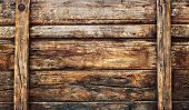 picture of low-light  - old dirty wood broad panel used as grunge textured background backdrop and nature bark wooden wall - JPG