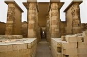 stock photo of burial  - Saqqara is a vast burial ground serving as the necropolis for the Ancient Egyptian capital Memphis - JPG