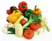 foto of goodies  - vegetables and fruits are displayed - JPG