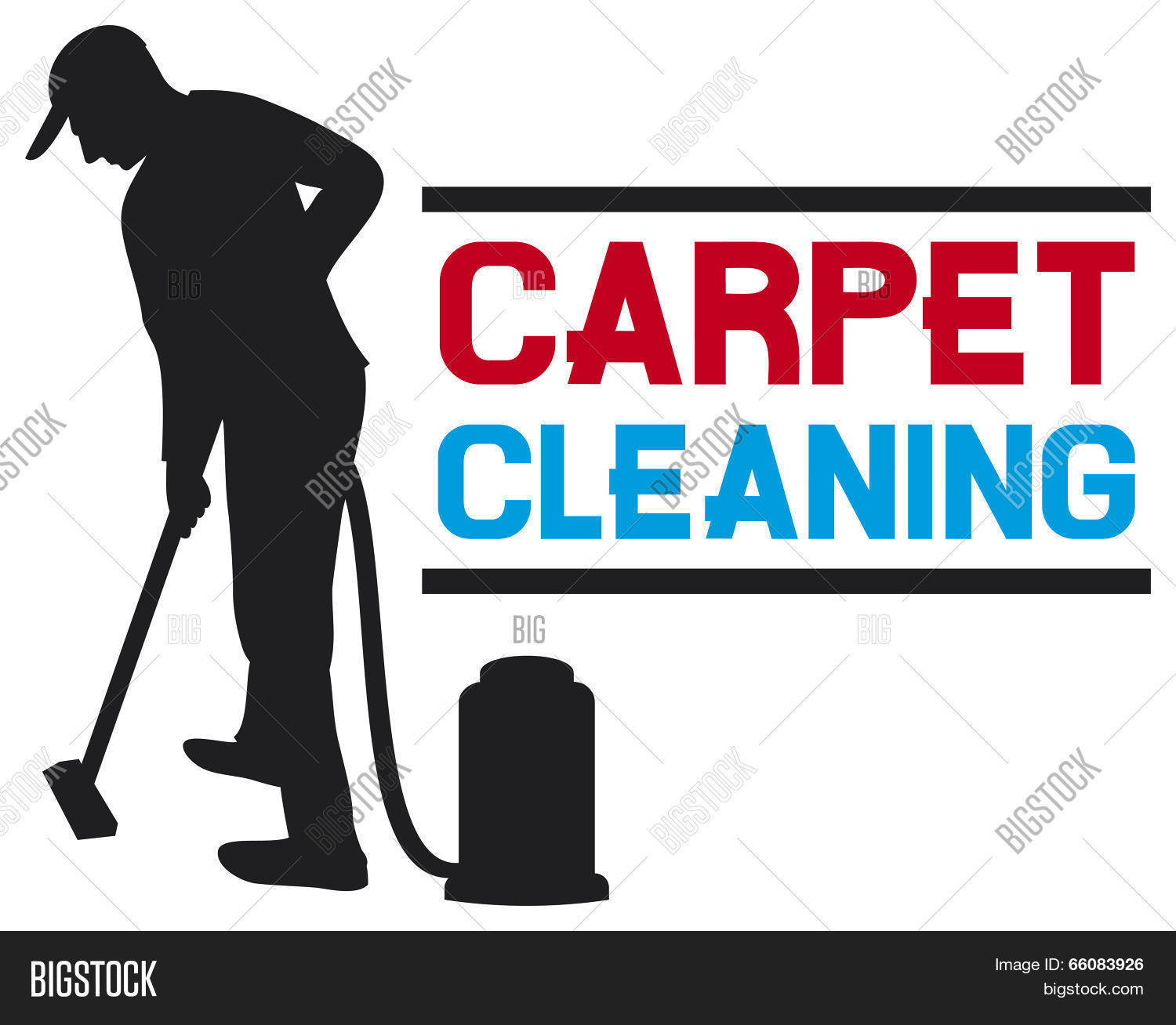 Carpet Cleaning Service Vector Photo Bigstock