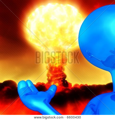 Introducir la bomba Nuclear