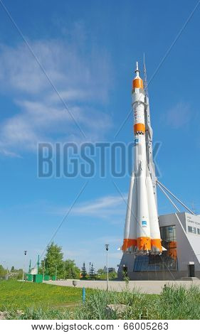 Soyuz Rocket As Monument