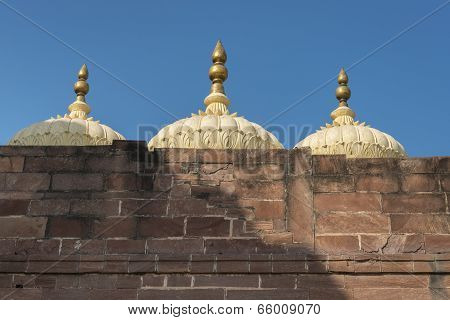 Mehrangarh Fort, Jodhpur, Rajasthan, India,