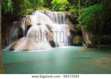 3 Rd Floor Of Huaymaekamin Waterfall