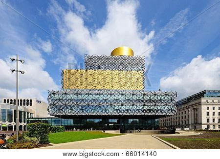 Library of Birmingham, UK.