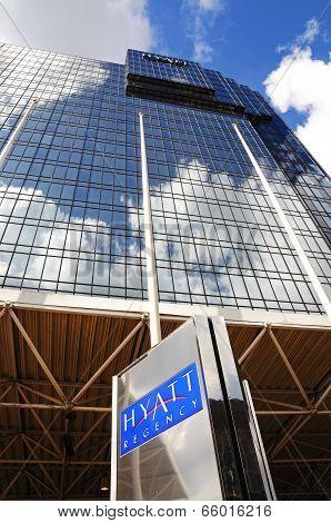 Hyatt Hotel, Birmingham.