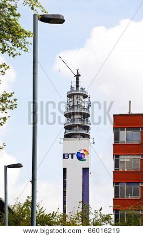 BT Post office tower, Birmingham.