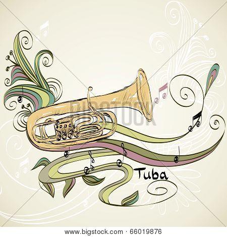 musical tuba