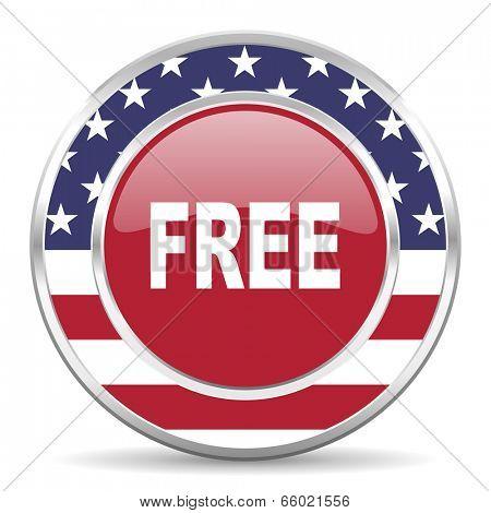 free american icon, usa flag