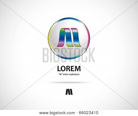 Abstract Vector Emblem Design Template