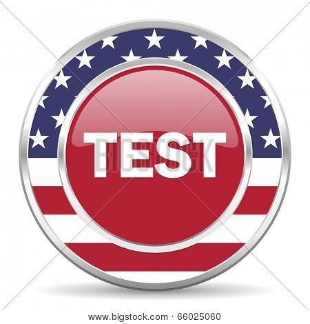 test american icon, usa flag