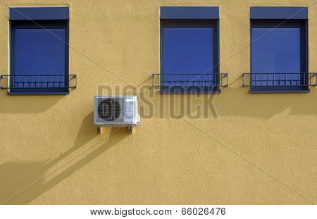 Windows and air conditioning