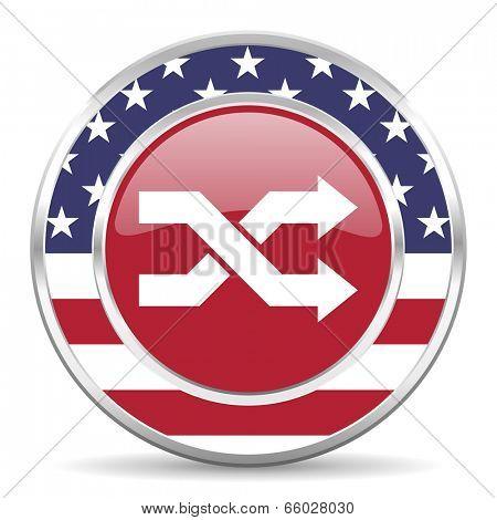 aleatory american icon, usa flag