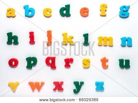 English Toy Alphabet
