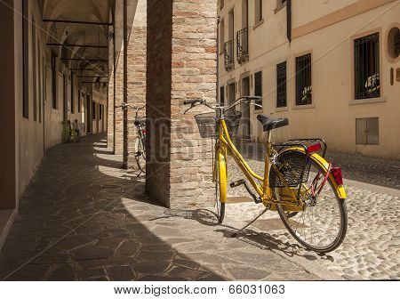 Bicycles on Treviso Street