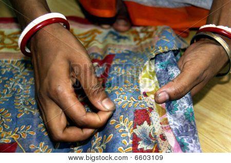 Womens hands