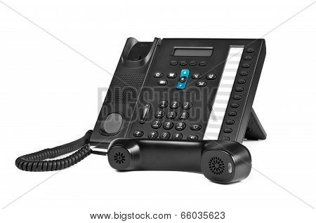 Black Office Ip Phone